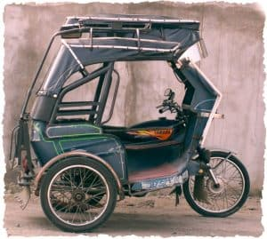 Transport tricycle